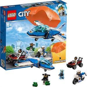Lego City Policia Aérea Arresto del Ladrón Paracaidista 60208