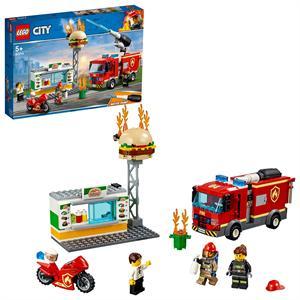 Lego City Rescate del Incendio en la Hamburgueseria 60214