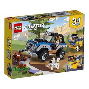 Lego Creator 3 en 1 Aventuras Lejanas 31075