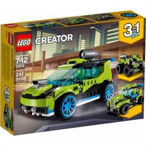 Lego Creator 3 en 1 Coche de Rally a Reacción 31074