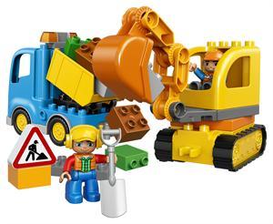 Lego Duplo Camión y Excavadora 10812
