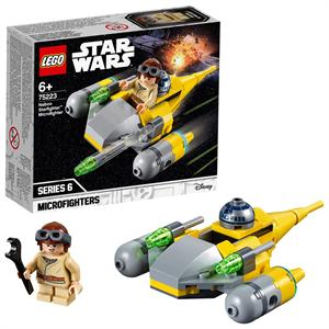 Lego Star Wars Microfigther Caza Estelar de Naboo 75223