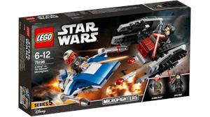Lego Star Wars Microfigthers Ala-A VS. Silenciador Tie 75196