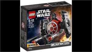 Lego Star Wars Microfigthers Caza Tie de la Primera Orden 75194