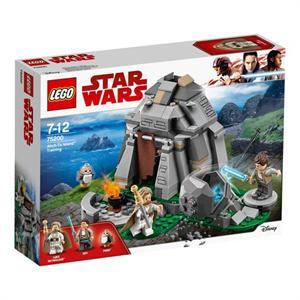 Lego Star Wars Microfigthers Entrenamiento en Ahch-To Island 75200