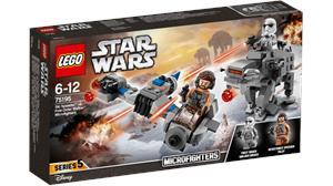 Lego Star Wars Microfigthers Speeder Esquiador VS. Caminante 75195