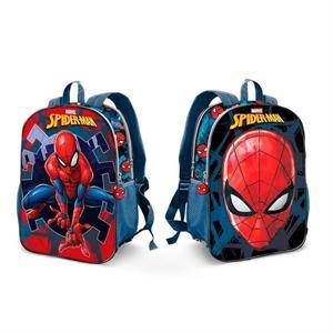 Mochila Infantil Dual Spiderman 25x32x12cm Karactermania 37492