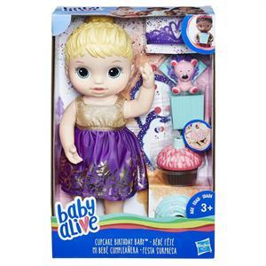 Muñeca Baby Alive Cumpleaños Sorpresa Hasbro 596E