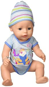 Muñeco Baby Born Interactivo Niño Bandai 819203