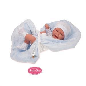 Muñeco Recien Nacido Carlo con manta Antonio Juan 5019