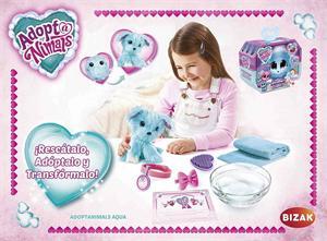 Peluche Adoptanimals Aqua Bizak 63046300