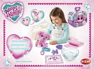 Peluche Adoptanimals Rosa Bizak 63046300