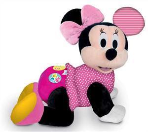 Peluche Interactivo Baby Minnie Gateos con sonidos Clementoni 552696