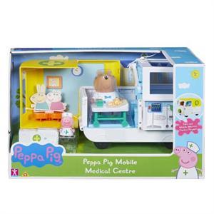 Peppa Pig Ambulancia y Centro Medico Bandai 6722