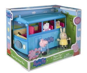 Peppa Pig Autobus del Cole Bandai 92637