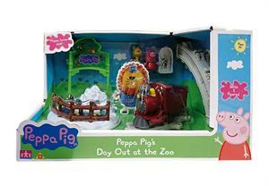 Peppa Pig Trenecito en el Zoo Bandai 6698