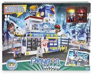 Pin Y Pon Action Trampas en la Comisaria Famosa 714493