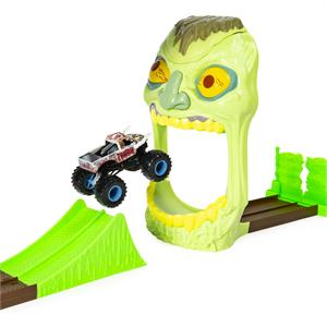 Pista Monster Jam Playset Acrobacias Bizak 61925873