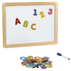 Pizarra Blanca con Letras Magneticas Color Baby 42744
