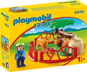Playmobil 1.2.3 Recinto Leones 9378