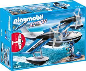 Playmobil Action Hidroavión de Policia 9436