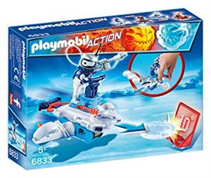 Playmobil Androide de Hielo con lanzador Action 6833