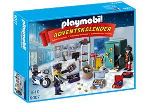 Playmobil Calendario de Navidad Robo En La Joyeria 9007