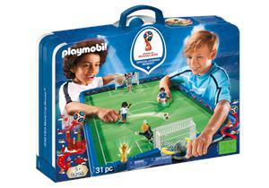 Playmobil Campo de Futbol 2018 Fifa World Cup Russia 9298