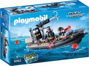 Playmobil City Action Lancha de las Fuerzas Especiales 9362