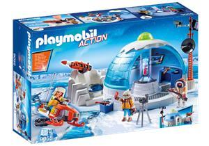 Playmobil Cuartel Polar de Exploradores 9055