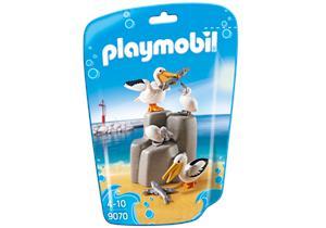 Playmobil Familia de Pelicanos 9070