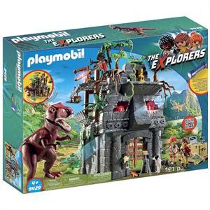Playmobil The Explores Campamento Base con Rex 9429