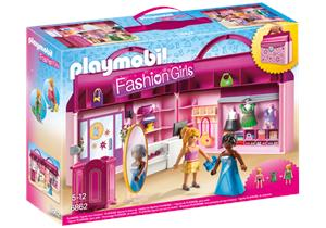 Playmobil Tienda de Moda Maletin 6862