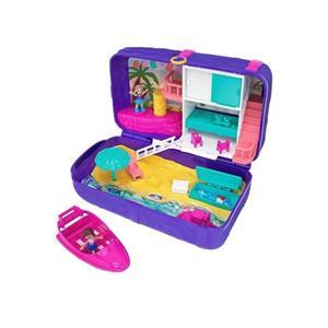 Polly Pocket Mochila Vacaciones en la Playa Mattel 39FRY