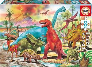 Puzzle Dinosaurios 100 piezas Educa 13179