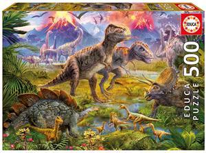 Puzzle Dinosaurios 500 piezas Educa 15969