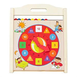 Reloj Abaco Madera Color Baby 43632