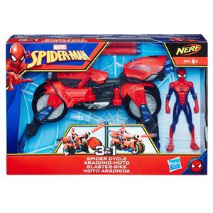Spiderman Moto Arácnida +Figura Hasbro 593E