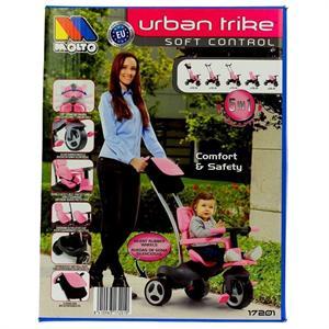 Triciclo Urban Trike Soft Control Rosa Molto 17201