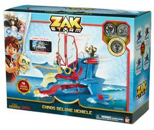 Zak Storm Barco Caos Bandai 41595