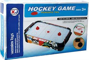 Air Hockey Madera Sobre Mesa 51x31x10,05cm Jugatoys 22117