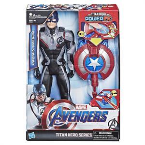 Avengers Titan Hero Figura Capitán America Hasbro 33011E