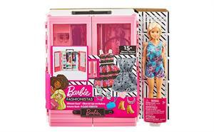 Barbie Super Armario con Muñeca Mattel 12GBK