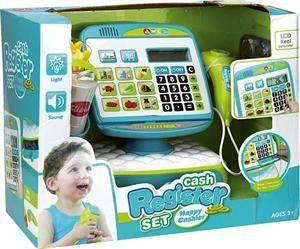 Caja registradora Tactil con Sonidos,Luz Cesta con Accesorios Jugatoys 22106