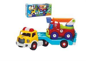 Camión Portacoches de Bomberos Jugatoys 22014