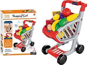 Carro Supermercado con Luz, Musica y 41 Accesorios Jugatoys 22039