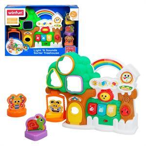 Casita Arbol Actividades con Luz y Sonidos Color Baby 46317