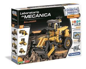 Ciencia y Juego Laboratorio de Mecanica Excavadora Clementoni 553471