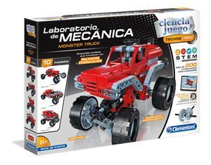 Ciencia y Juego Laboratorio de Mecanica Monster Truck Clementoni 552771