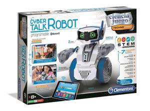 Ciencia y Juego Robot Cyber Talk con 7 Modalidades Clementoni 553303